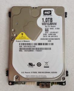Western Digital My Passport 1TB Festplatte