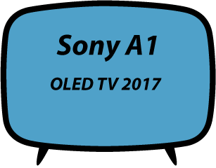 Sony A1 OLED TV 2017