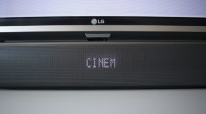 LG SJ5 Soundmodus Cinema