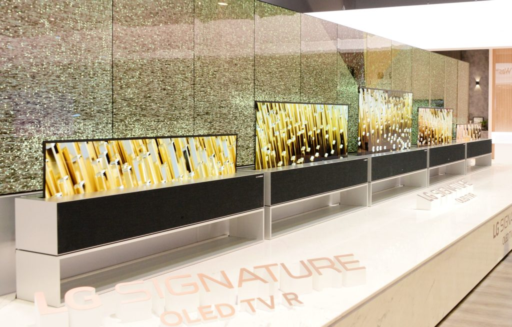LG OLED TV Rollable TV R9 (© LG)