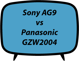 Sony AG9 vs Panasonic GZW2004
