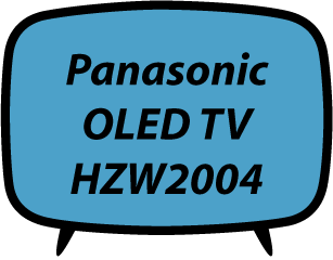 Panasonic TV HZW2004 2020