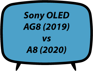 Sony AG8 vs A8