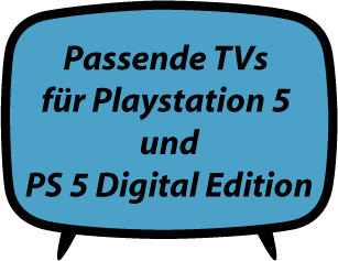 TVs für Playstation 5