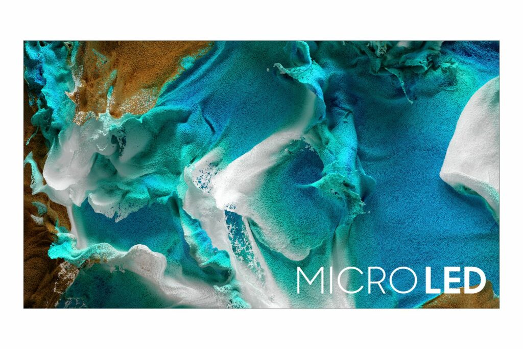 Samsung MicroLED TV aus 2021